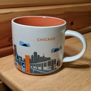 Starbucks you are here collection Chicago mug 2013